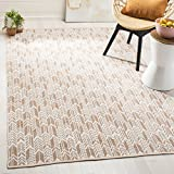 Safavieh Montauk Collection MTK609D Orange and Ivory Area Rug (3′ x 5′) Review
