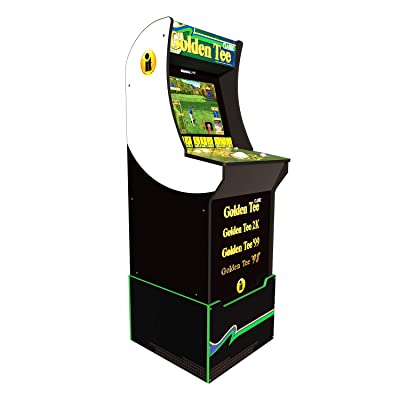 Arcade 1Up Golden Tee Classic Arcade with Riser, 5ft: Video Games