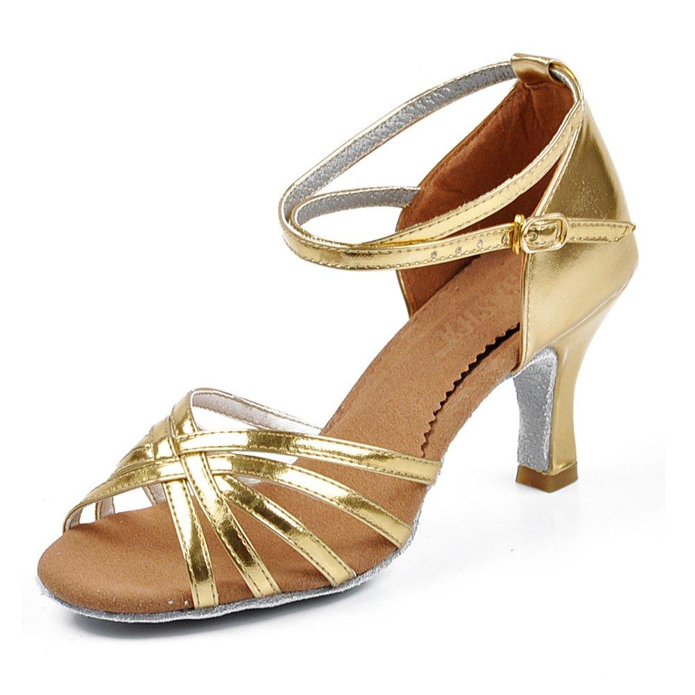 Amur Leopard Chaussure de Danse Latine Sandales Femme