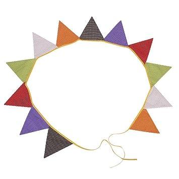 PIXNOR 12 piezas decoración en forma de triángulo y cartel ...
