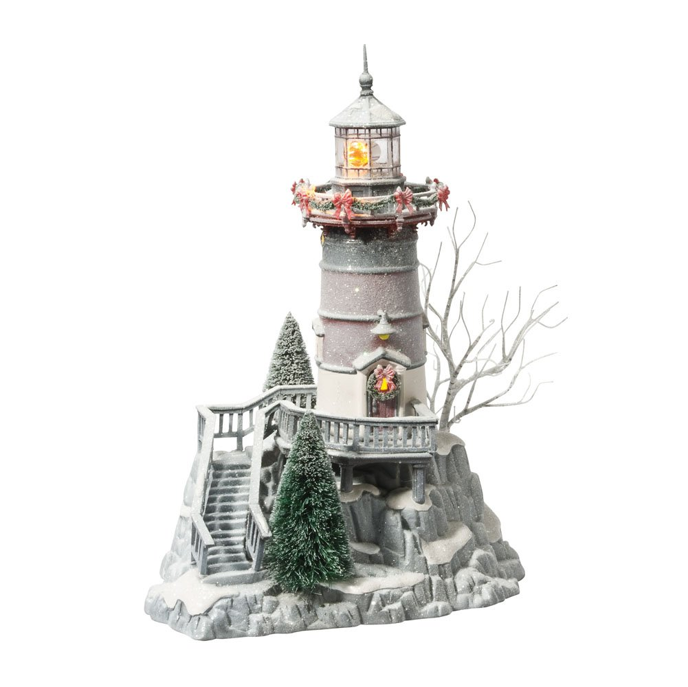 Department 56 Winter's Frost Collection Light Lit House