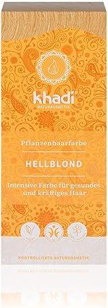 Khadi - Tinte Herbal, 100 g, Rubio Claro