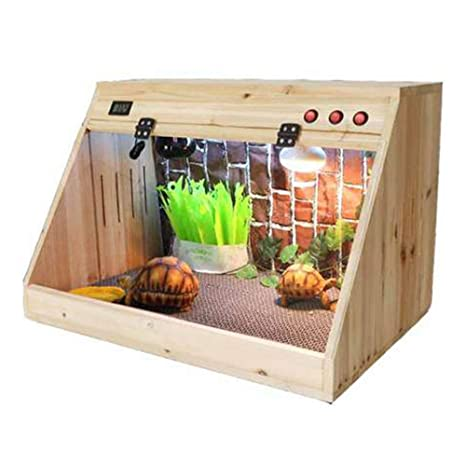 XBTECH Vivarium Repti-Home Terrario Natural Interior Reptil Roble ...
