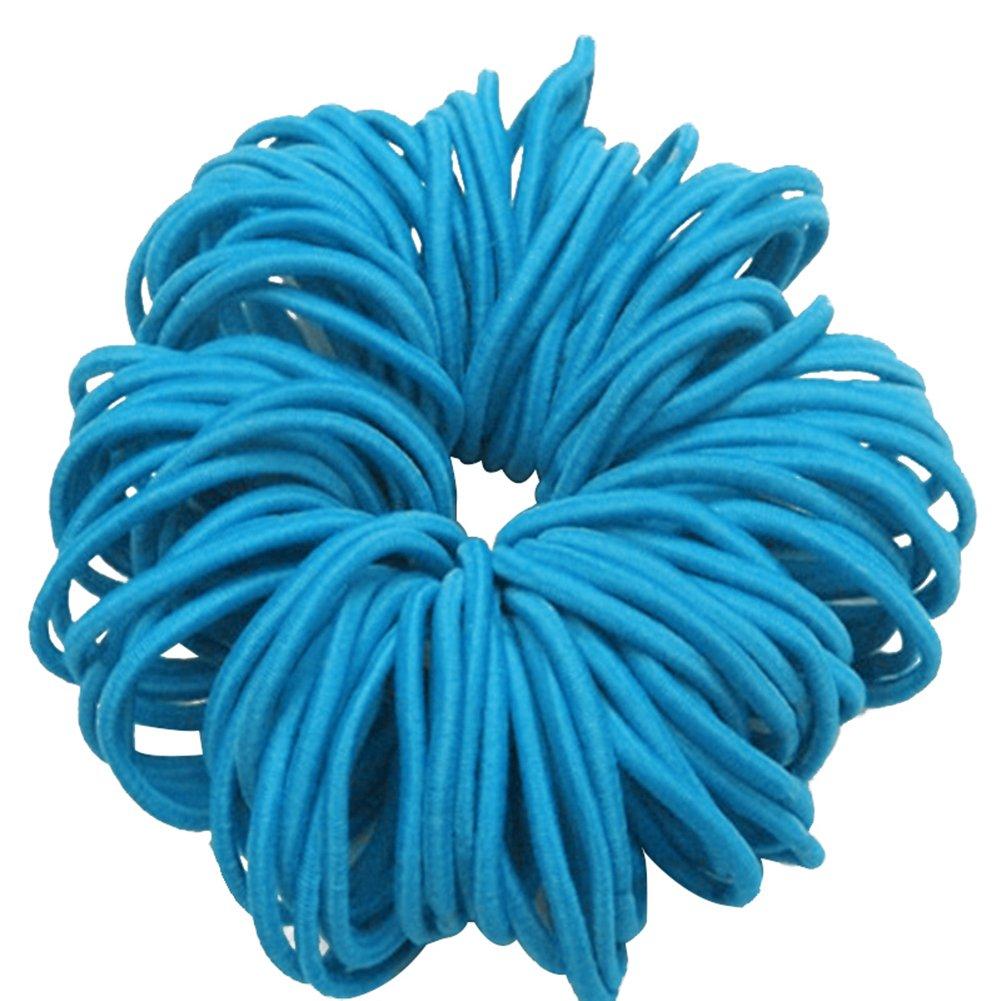 Bodhi2000 50 Teile / los Mädchen Kinder Elastische Haargummis Haarband Keine Falte Pferdeschwanz Inhaber