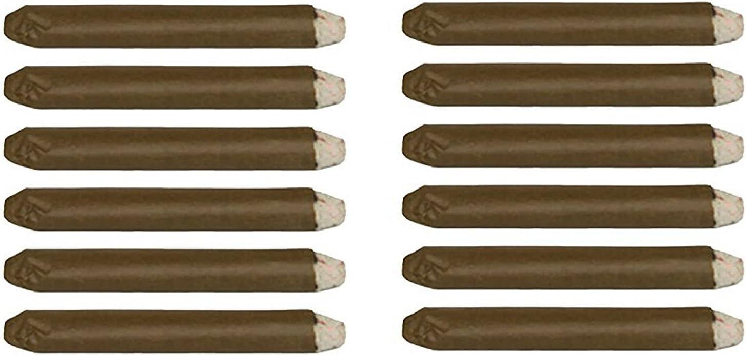 Lot de 4 Faux Cigare Incandescent les 4