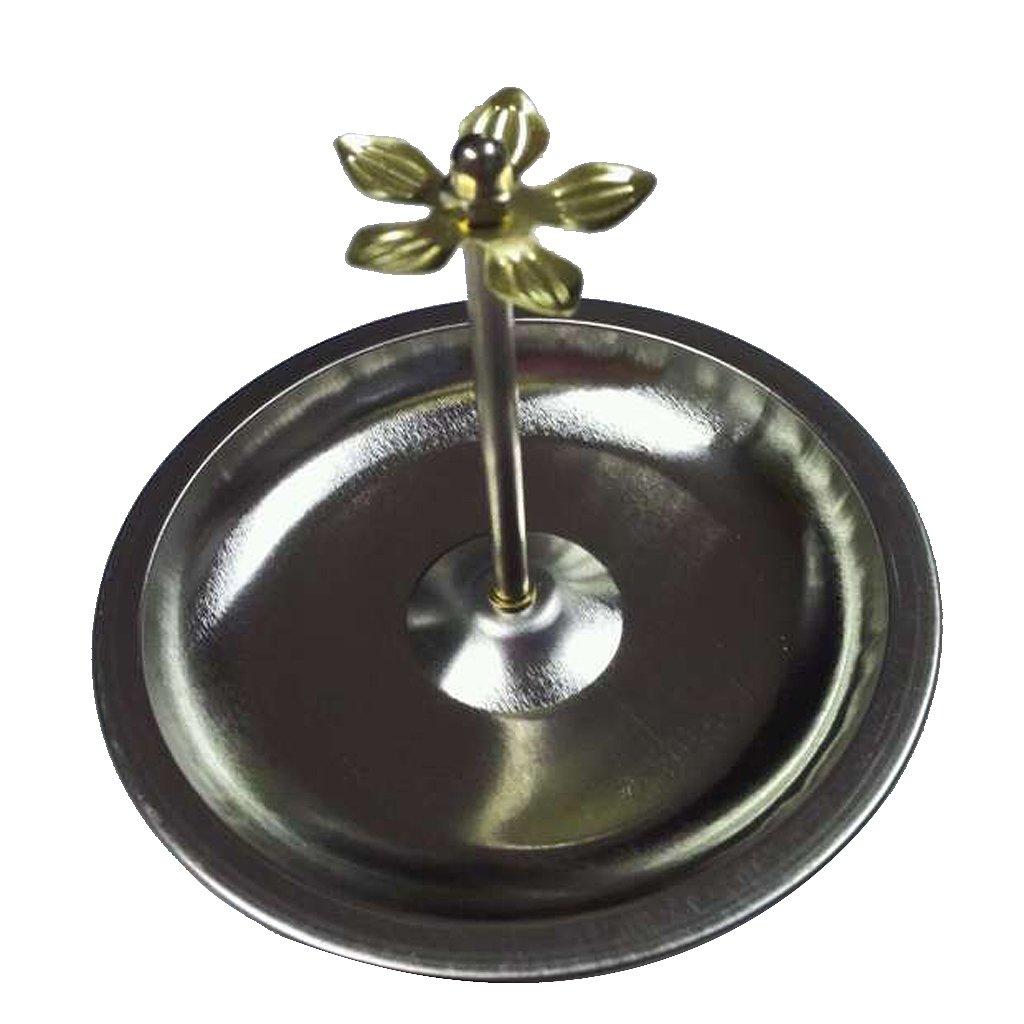 1 # 8.5cm 5 Tama/ños Disponibles Homyl Placa de Quemador de Incienso Ajustable para Incienso de Bobina Espiral de S/ándalo