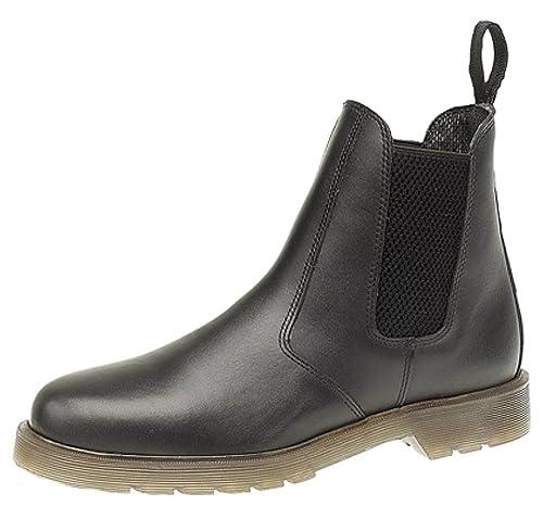 prezzo ufficiale migliore vendita prestazioni superiori Grafters - Stivali da uomo in pelle dotati di suola con cuscinetto d'aria