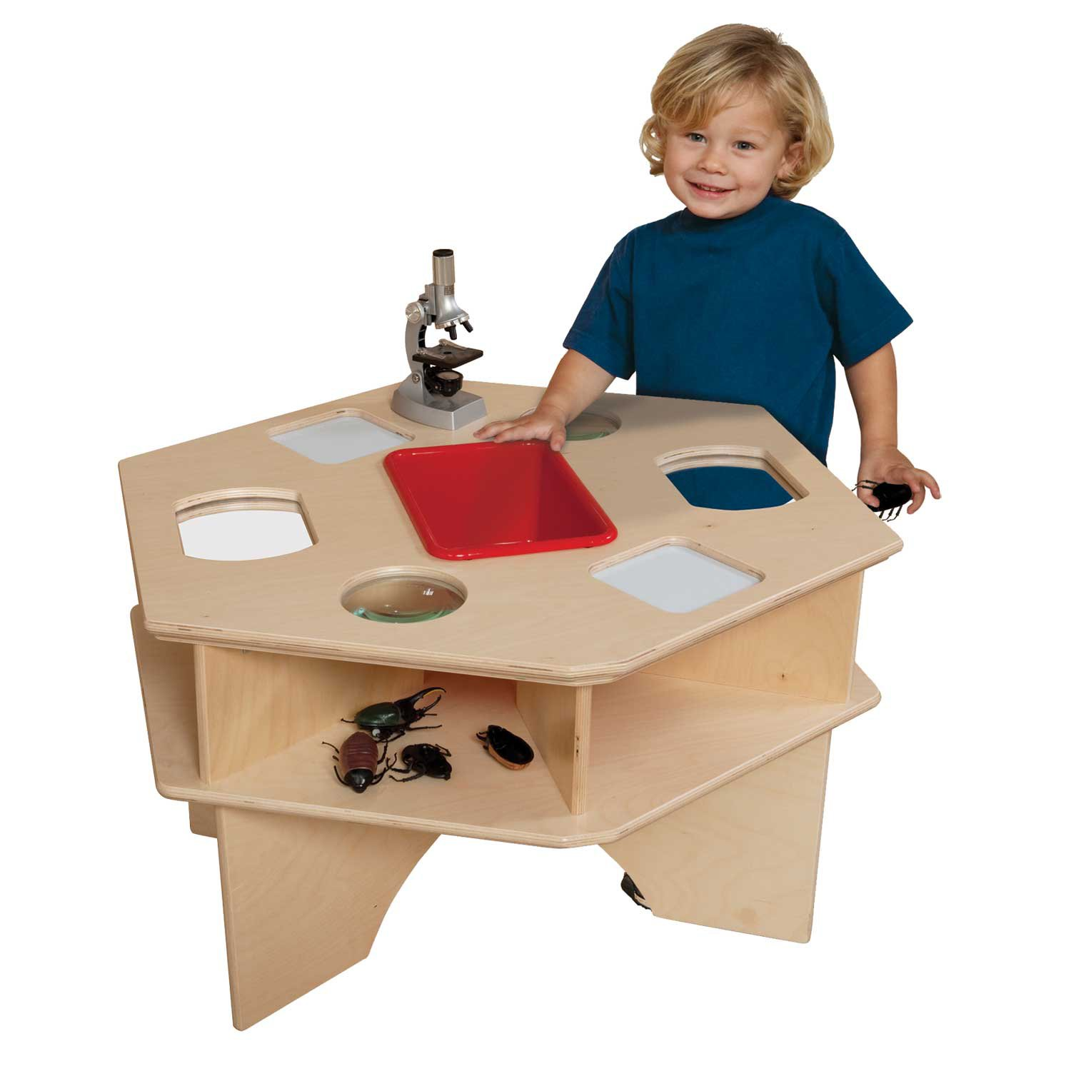 Wood Designs Wd93021 Deluxe Science Activity Table