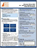 Microsoft Word 2013 Quick Reference Guide: Important Paragraph & Text Formatting Techniques (204)