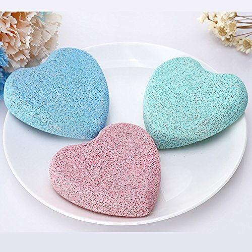 3PCS Colorful Pumice Stones for Foot Callus - Premium Callus Remover for Feet and Hands - Pedicure Tools, Exfoliation to Remove Dead Skin - Natural Foot File by Cayanmydery