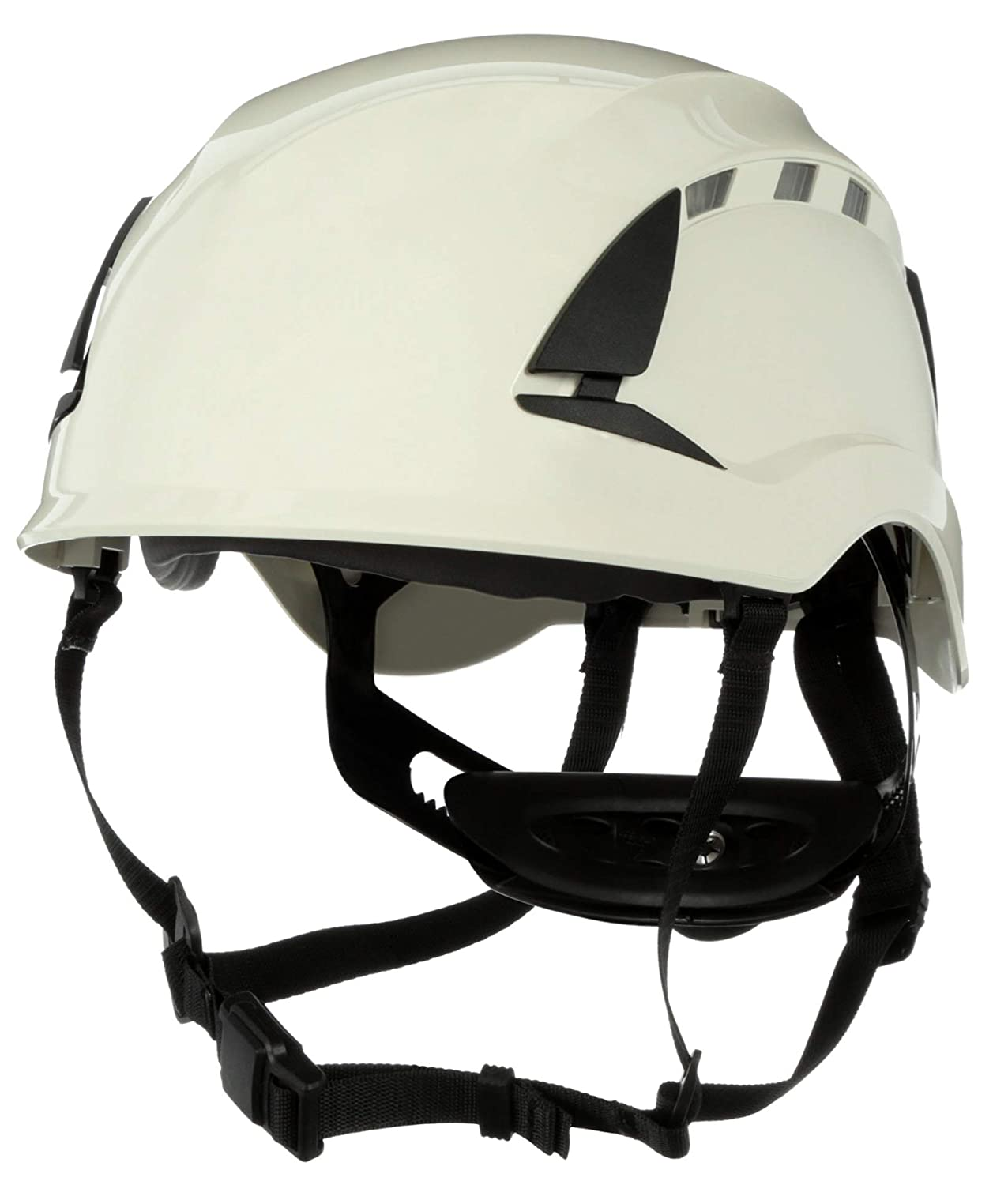 3M SecureFit Safety Helmet/Hard Hat, Climbing Style, Construction, Manufacturing, Forestry, Utilities, Work at Height, X5001V-ANSI, Vented, White