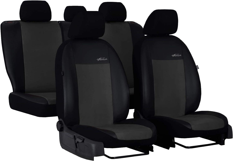 Ejp Unico Premium Autositzbezüge Sitzbezüge Schonbezüge Set Passend Für Navara Np300 D40 Hier Farbe Grau Auto