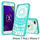 iPhone-7-Plus-Clear-Case-AnoKe-Scratch-Resistant-Colors-Dream-Catcher-Mandala-Flower-Ultra-Slim-Acrylic-Hard-C