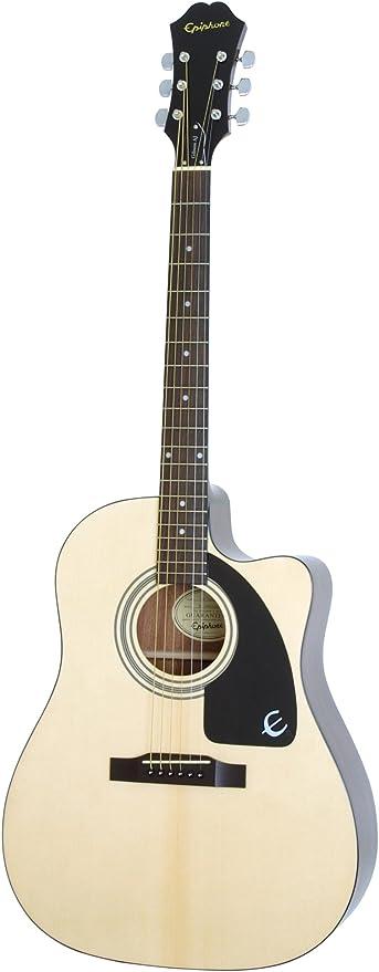 Epiphone AJ-100CE - Guitarras acústicas con cuerdas metálicas ...