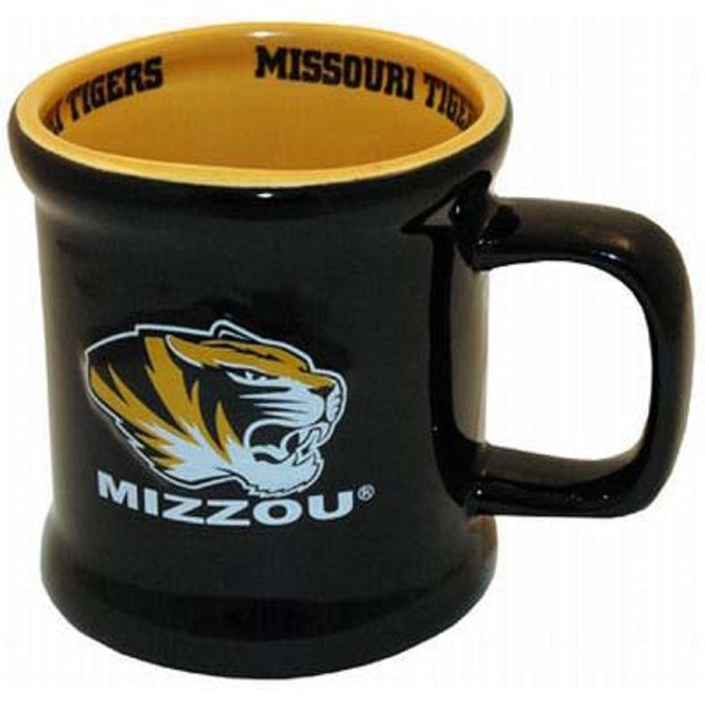 Jenkins Enterprises Missouri Tigers Ceramic Relief Mug