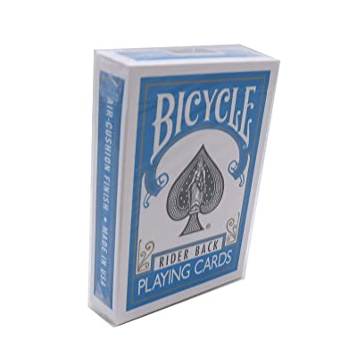 Murphy's Magic Bicycle Poker Size Turquoise Back Playing Cards, 1 Joker Included: Toys & Games