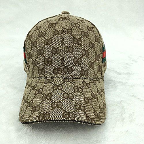 NHGY Trellis baseball cap, summer young lovers' cap,Camel (Summer Trellis)
