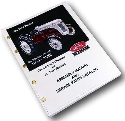 Amazon.com: 1939 1950 1951 1952 Tractor Ford de 9 N 2 N 8 N ...