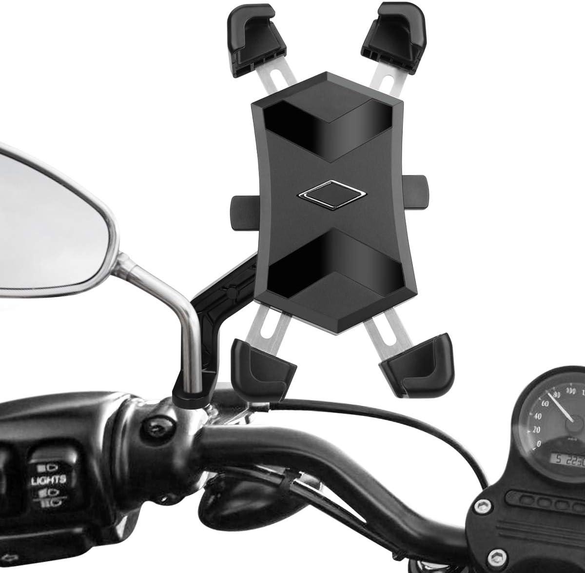 HASAGEI Soporte Movil Moto Deportiva para 4.5