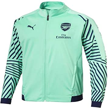 Amazon.com: PUMA 2018-2019 Arsenal Stadium - Chaqueta (verde ...