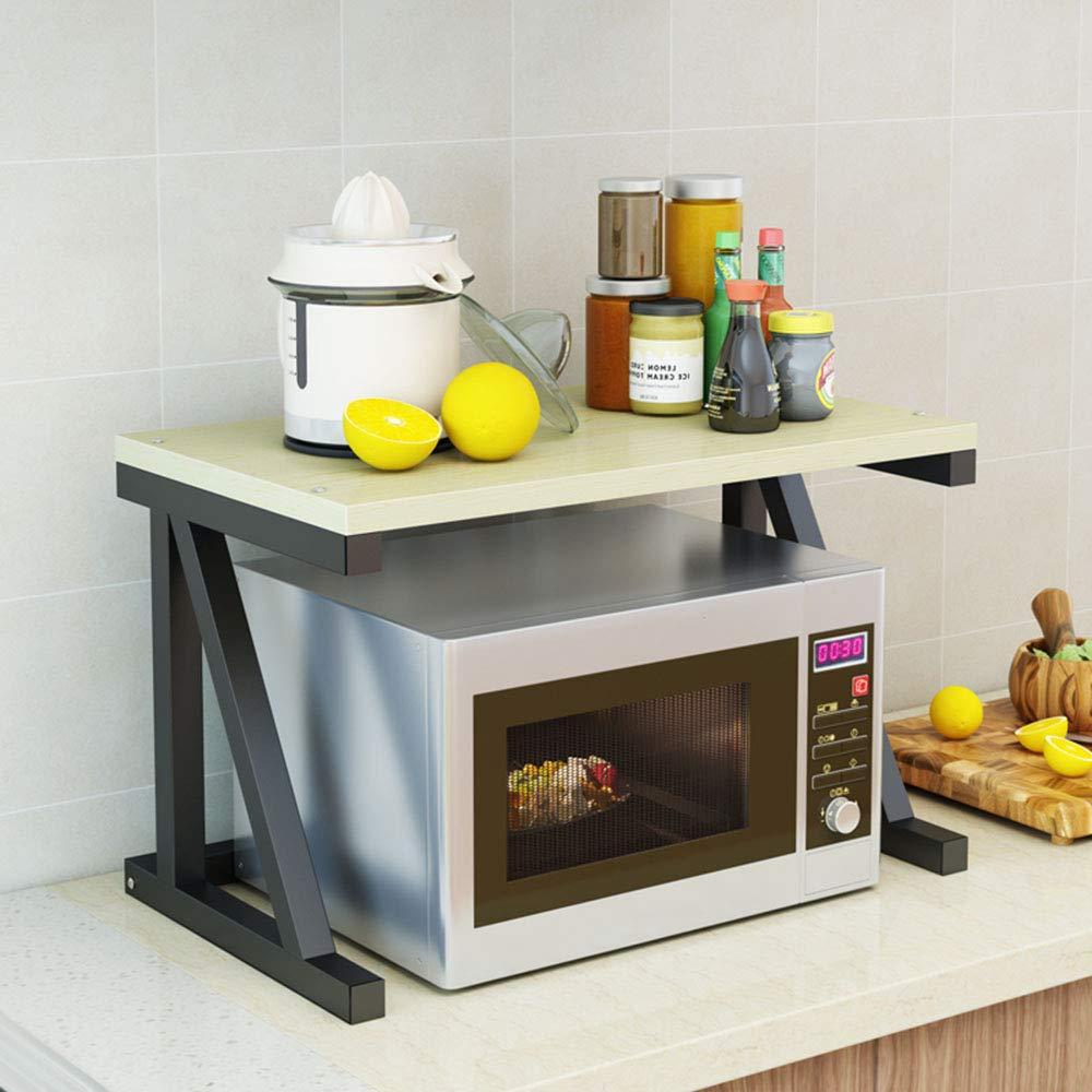 Soporte para Horno De Microondas De Pie,Estante De Cocina De 2 ...