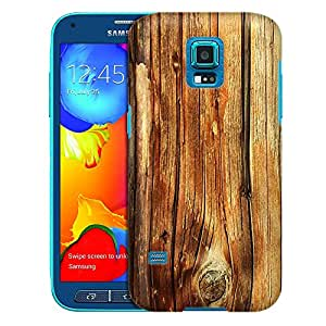 Samsung Galaxy S5 Sport Case, Slim Fit Snap On Cover by Trek Mature Wood Floors Case
