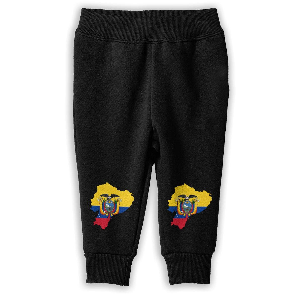 Baby Girls Training Pants NJKM5MJ Flag Map of Ecuador Sweatpants