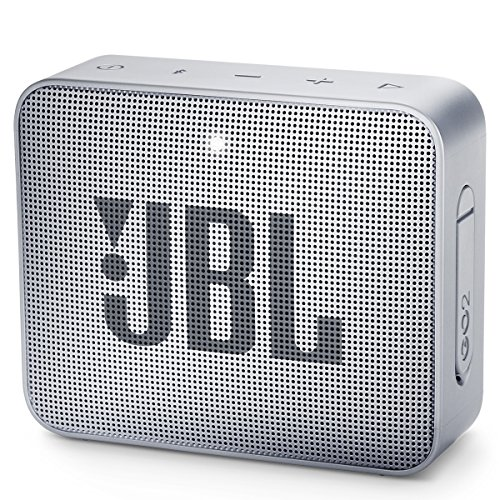 JBL GO 2 Portable Bluetooth Waterproof Speaker (Gray)