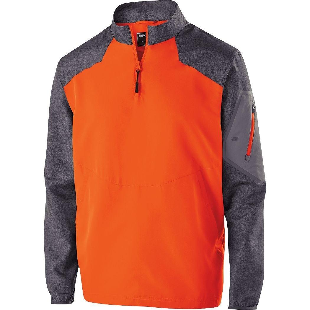 Amazon.com : Holloway Mens Aero-Tec 1/4-Zip Raider Pullover Jacket ...