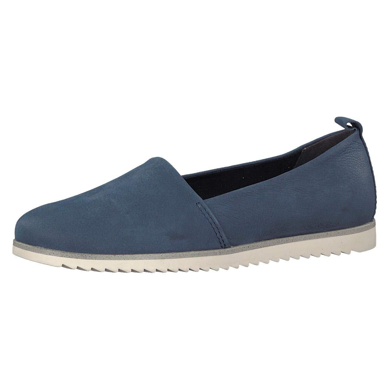 MARCO TOZZI Damen Slipper blau 2-2-24603-20/892 blau Slipper 411884 Blau 3c0e84