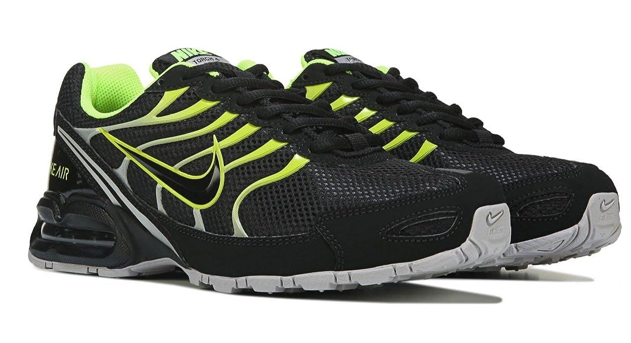 06beca00 Amazon.com | Nike Men's Air Max Torch 4 Running Shoe Black/Volt/Atmosphere  Grey Size 8 M US | Road Running