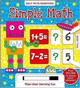 Simple Math: Wipe-clean learning fun (Help With Homework ...