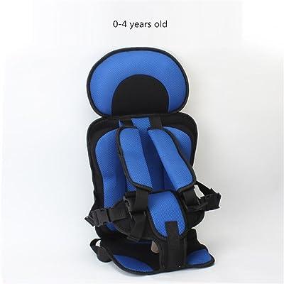 Massage Siège de voiture de bébé confortable Siège de sécurité de bébé Chaises des enfants Le siège de voiture en coton épaississement de voiture , 4