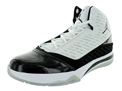buy online 85223 1a620 Jordan Nike Air B Mo Mens Basketball Shoes 580590-109 White 9 ...