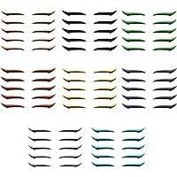 Daerzy Adesivo para eyeliner Fita dupla para pálpebras com brilho eyeliner sombra para olhos ferramenta de maquiagem…