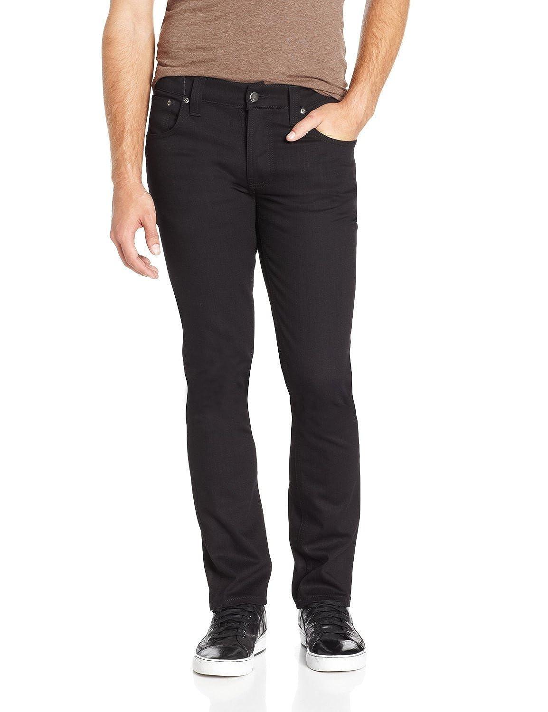 Nudie Jeans Mens Grim Tim Oragnic Black Ring Size 30 x 34