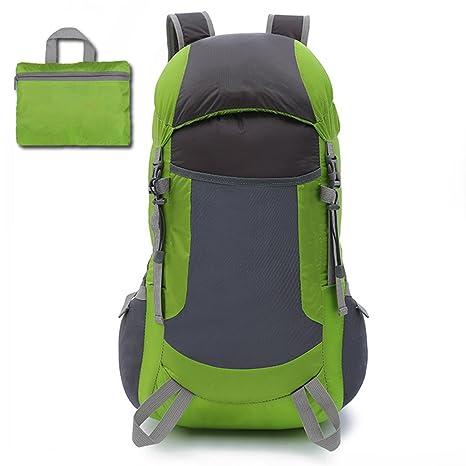 11f5021cd MRSLIU Bolsa De Viaje Ultraligero Packable Mochila para Mujeres Hombres,  Ligero 35L Impermeable para Escalar