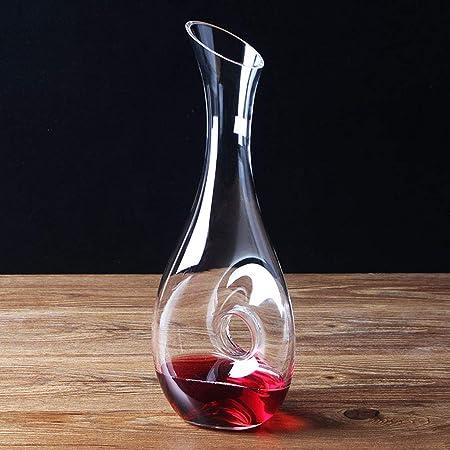 1200ml Vin Transparent Carafe Vin Rouge Carafe Vin Cadeaux
