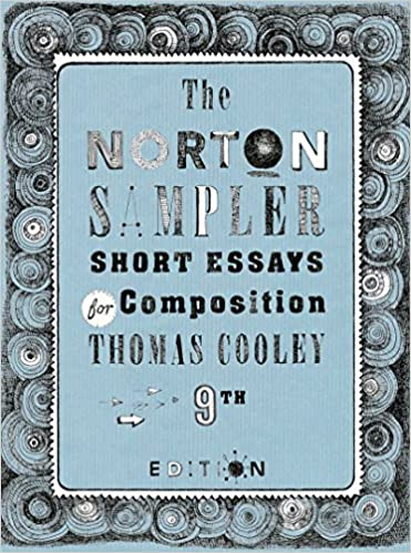 English Essay Story The Norton Sampler Short Essays For Composition Ninth Edition Ninth  Edition English Literature Essay also Comparison Contrast Essay Example Paper Amazoncom The Norton Sampler Short Essays For Composition Ninth  Narrative Essay Thesis Statement Examples