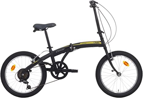 Bicicleta Plegable C-Fold de Acero 20 Pulgadas con Cambio ...