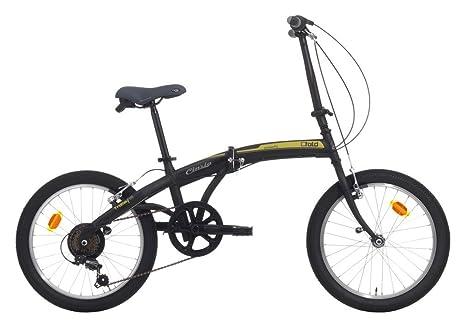 Bicicleta Plegable C-Fold de Acero 20 Pulgadas con Cambio Shimano ...