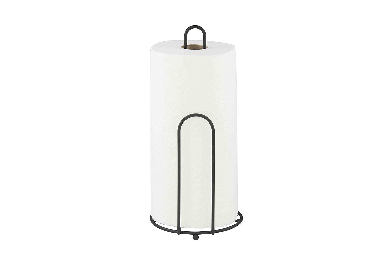 Home Basics Black Paper Towel Holder PH40921