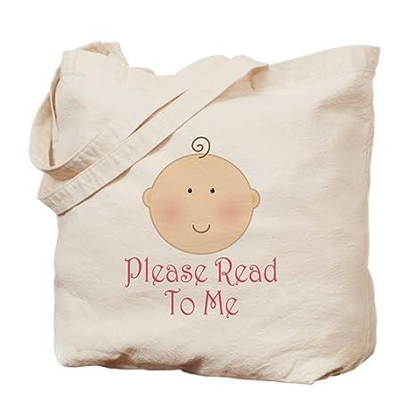 CafePress Baby Read Aloud - Bolsa para Libros, Lona, Caqui ...