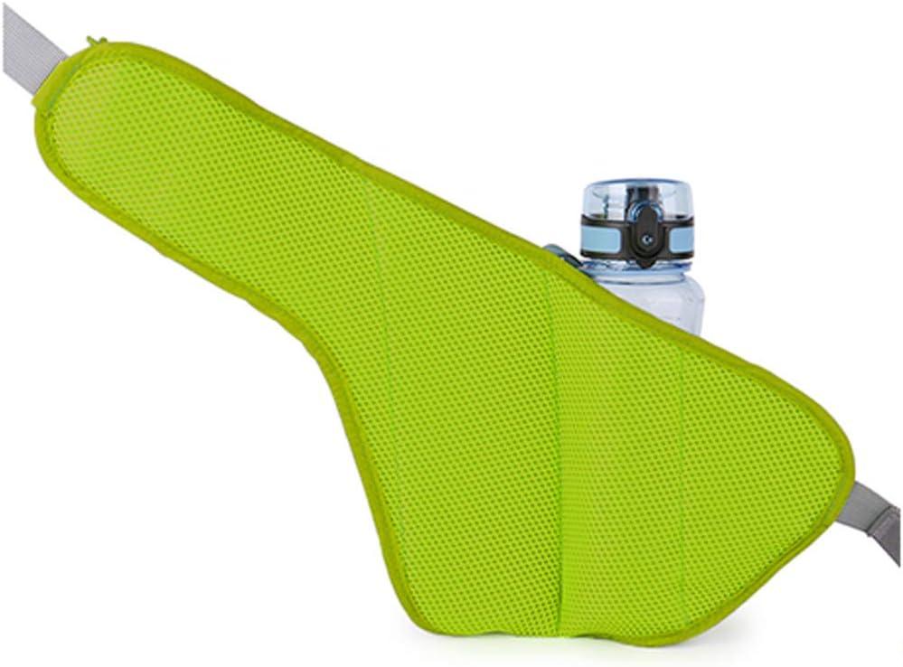 sikiwind Running Belt with Water Bottle Holder Bum Bag Waterproof Cycling Waist Bag Large Capacity Phone Holder Waist Pack for Women Men