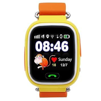 9Tong Reloj Inteligente para Niños con GPS, Reloj Inteligente para ...
