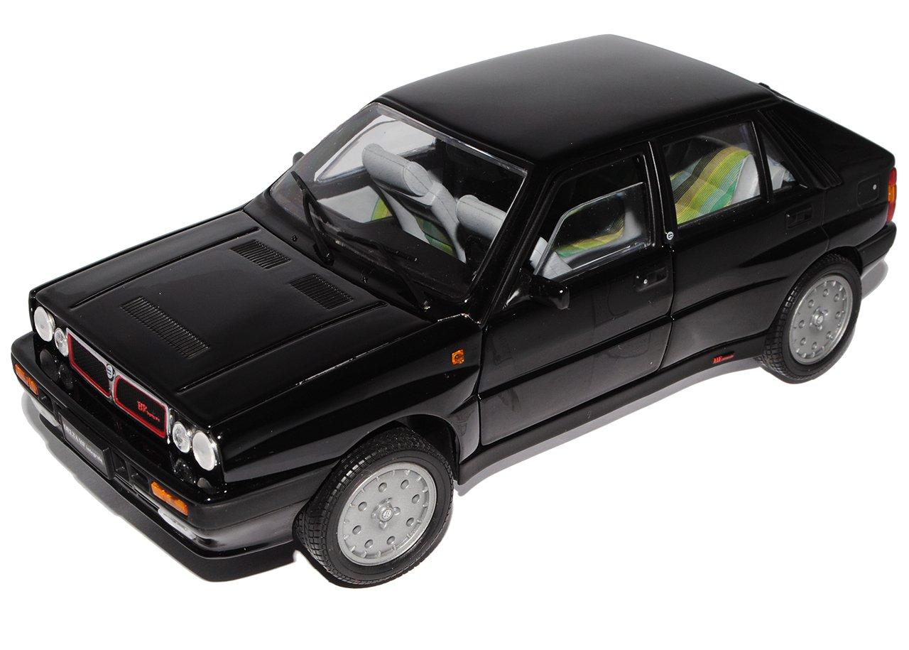 Lancia Delta HF Integrale 8V Schwarz Star 1 18 Sun Star Schwarz Modell Auto mit individiuellem Wunschkennzeichen 4e4de2