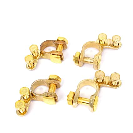 Amazon Com Replacement Auto Car Battery Terminal Clamp Clips Brass