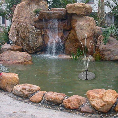 Terrasse Aquarium. niceEshop Solar-Brunnen solarbetriebener Wasserbrunnen Pool Tauchpumpe f/ü r Teich