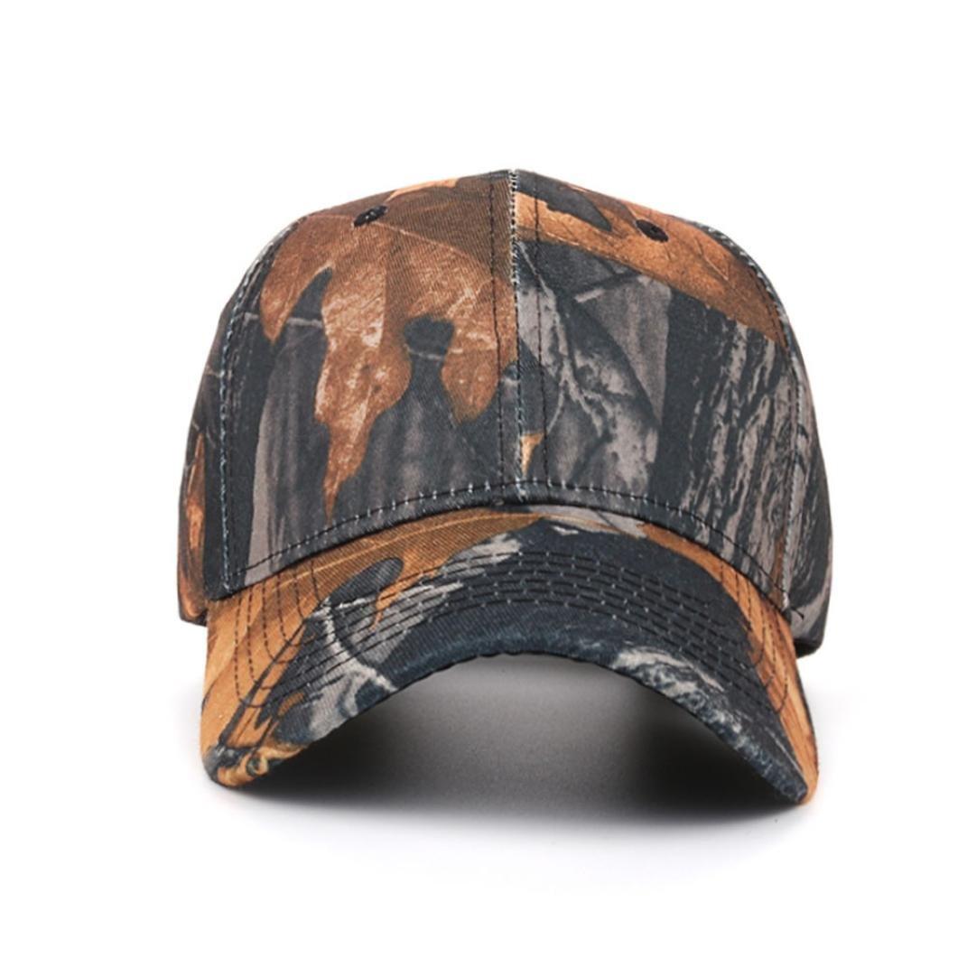 Clemunn Sports Hat Breathable Outdoor Tactical Run Cap Camo Baseball caps Camouflage Baseball Cap