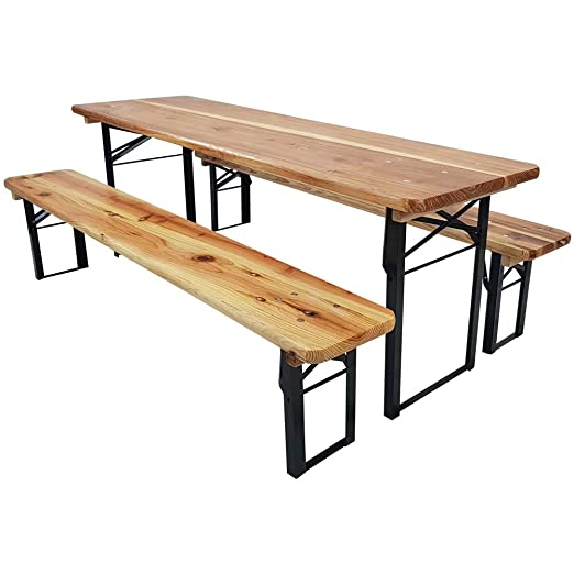Tavoli E Panche Birreria Usati.Proheim Bambini Birra Birreria Compatto 150 Cm 3 Set Di Panchine
